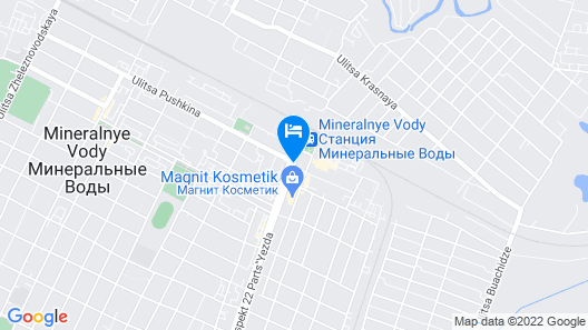 City & Business Hotel Map