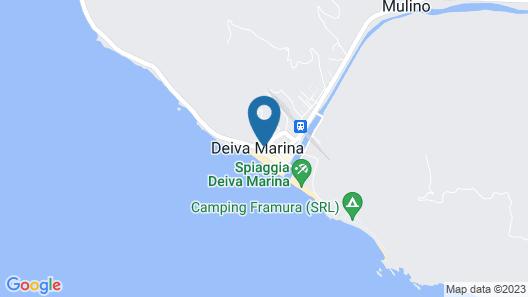 Albergo La Marina Map