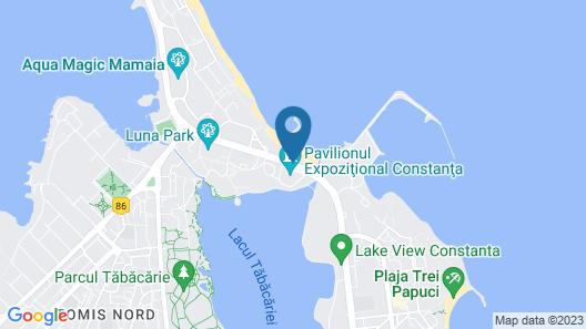 Hotel Malibu Mamaia Map