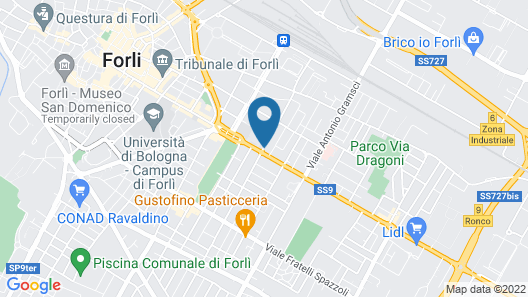 Michelangelo Hotel Map