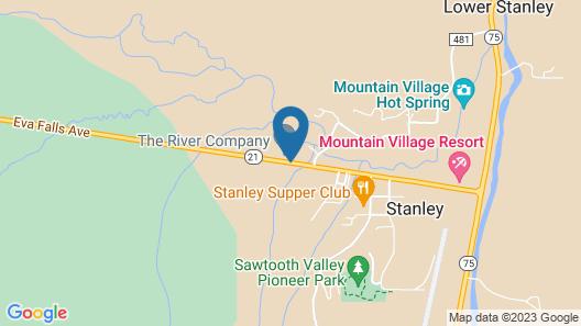 Valley Creek Lodge Map