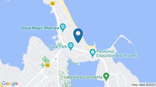 Hotel Bavaria Blu Map