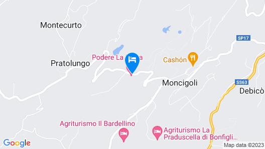 Podere La Piana Map