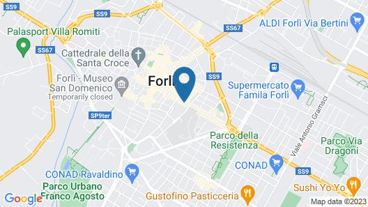 Corte Livia Room & Breakfast Map