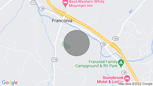 Fox Hill House in Franconia Notch Map