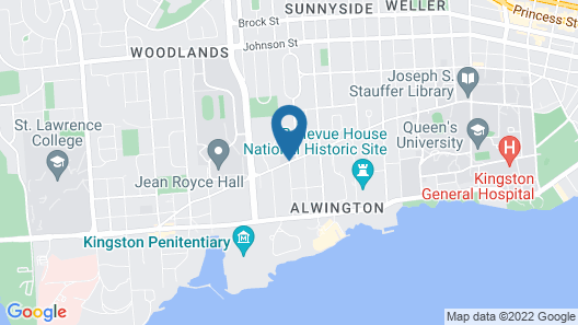 Donald Gordon Hotel and Conference Centre Map