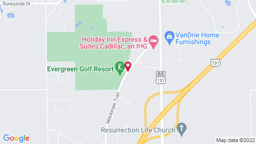 Evergreen Resort Map