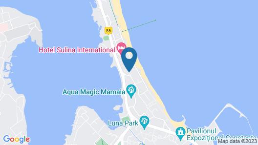 Hotel Sulina International Map