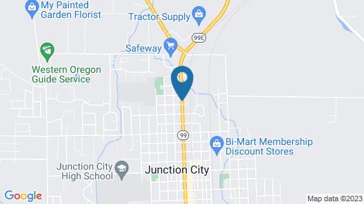 Guest House Inn Junction City Map