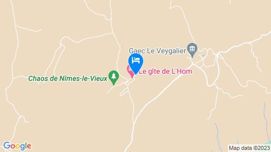 La Ferme de l'Hom Map
