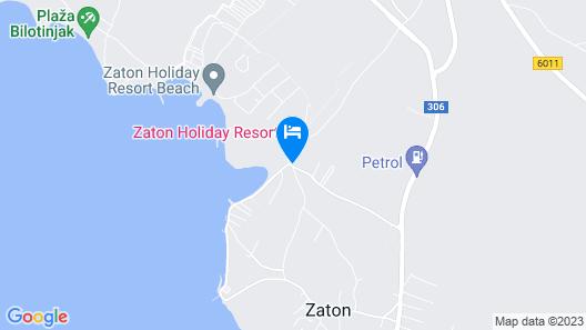 Zaton Holiday Resort Mobile Homes Map