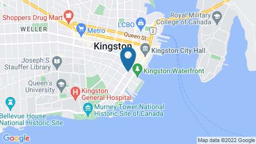 Frontenac Club Inn Map