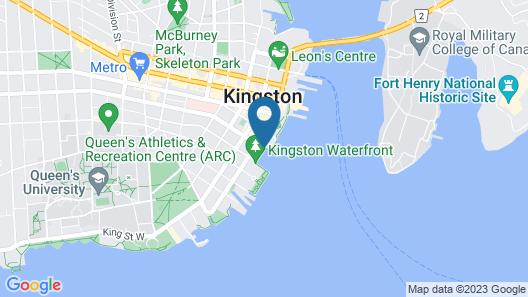 Delta Hotels by Marriott Kingston Waterfront Map