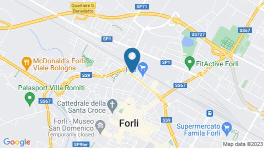 Hotel Executive Map