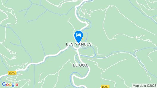 Auberge du Tarnon Map