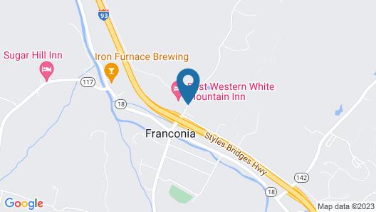 Best Western White Mountain Inn Map