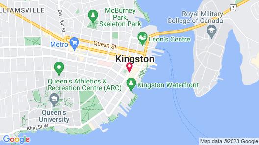 Four Points by Sheraton Kingston Map