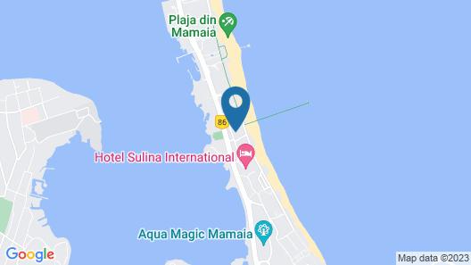Aparthotel Luxury Ovidiu Mamaia Map