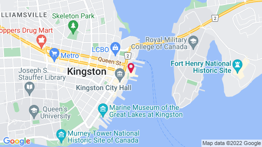 Holiday Inn Kingston Waterfront, an IHG Hotel Map
