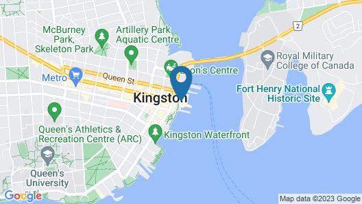 Holiday Inn Kingston Waterfront Map