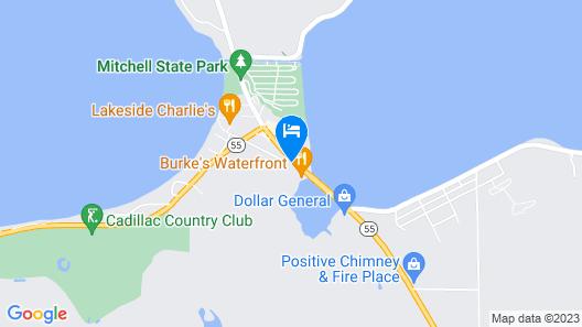 Econo Lodge Cadillac Map