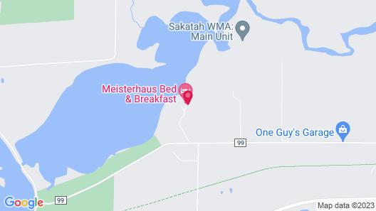 Meisterhaus Bed & Breakfast Map
