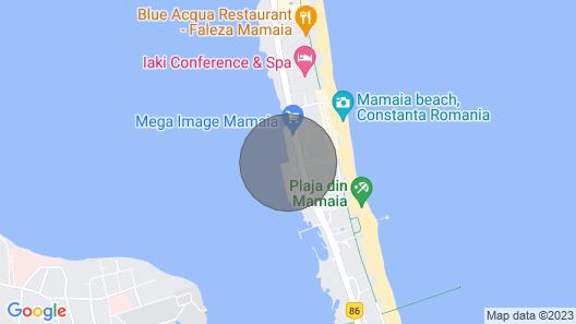 Apartament Sunrise-mamaia Center Casino Map