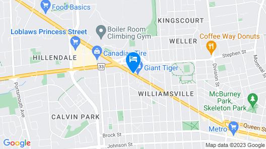 Econo Lodge City Centre Map
