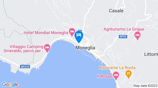 Hotel Mondial Map
