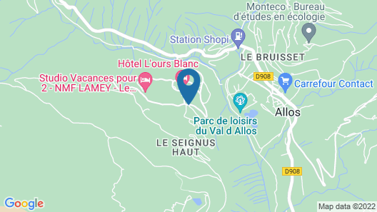 Hotel l'Ours Blanc Map