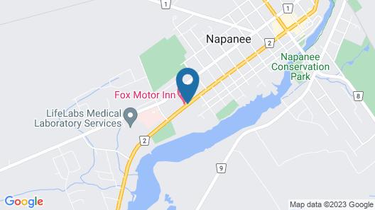 FOX MOTOR INN Map