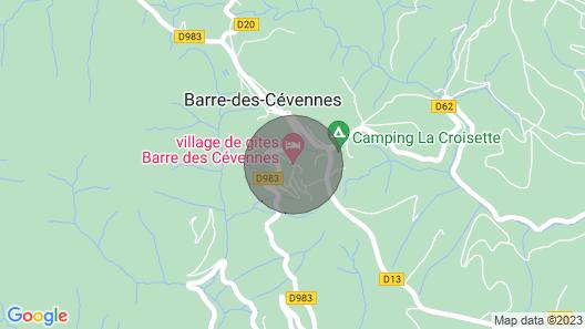 Maison de Village a Barre des Cevennes/lozere 48 Map