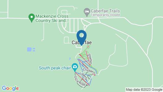 Caberfae Peaks Ski & Golf Resort Map