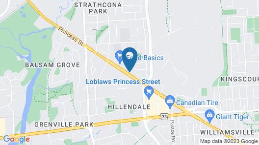 Thriftlodge Kingston Map