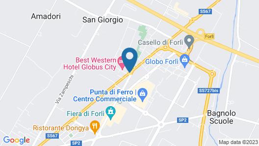 Best Western Hotel Globus City Map