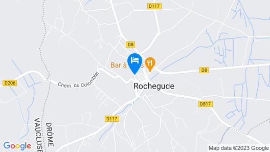Chateau De Rochegude Map
