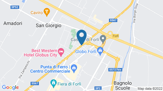 San Giorgio, Sure Hotel Collection by Best Western Map