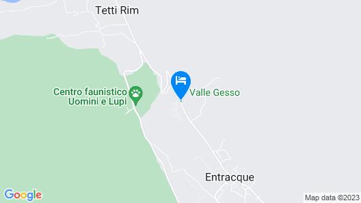 Campeggio Valle Gesso Map