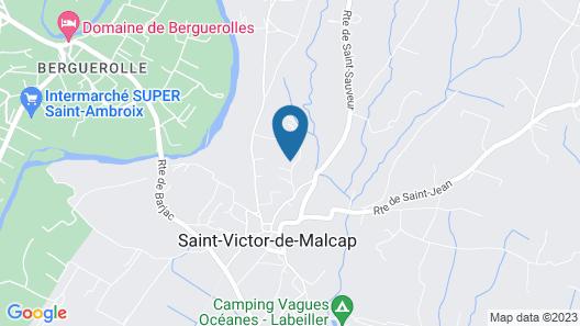 Au Plaisir Des Sens - Jacuzzi Map