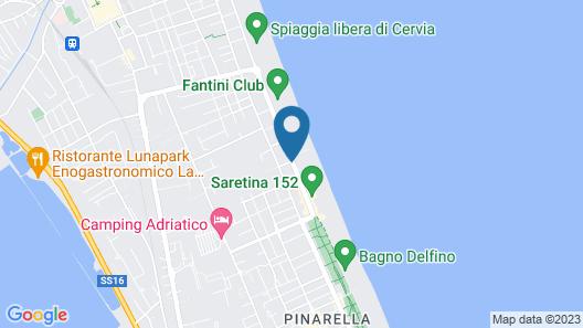 Hotel Gambrinus & Strand Map