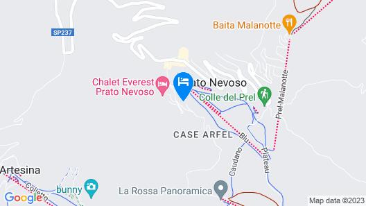 Residenze Diffuse Prato Nevoso Map
