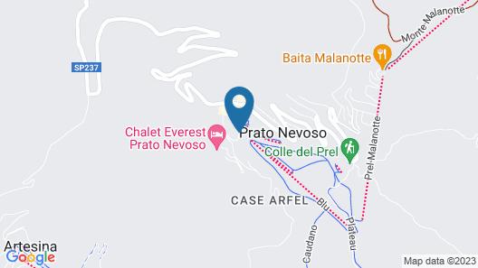 Hotel Laghetto Map