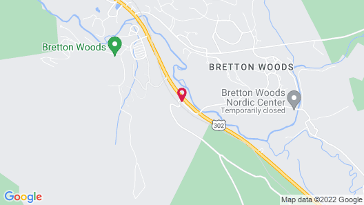 The Lodge at Bretton Woods Map