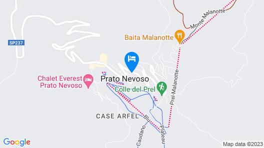 FastRent - Prato Nevoso Map