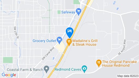 Motel 6 Redmond, OR Map