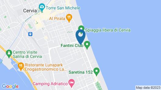 Hotel Conchiglia Map