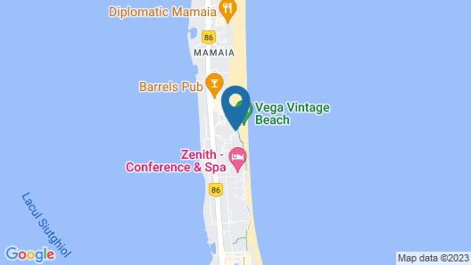 Vega Hotel Map