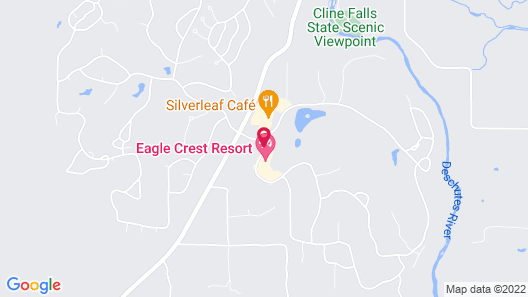 The Lodge at Eagle Crest Resort Map
