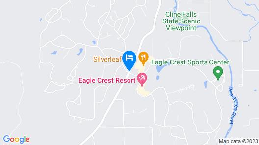 Eagle Crest Resort Vacation Rentals Map