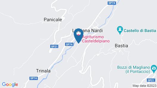 Casteldelpiano Agriturismo & Cantina Map